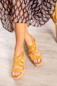 La sandale tendance