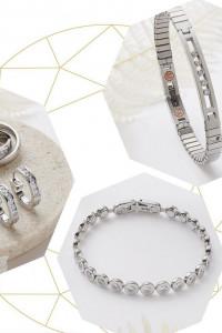 Bijoux au design exclusif avec aimants intégrés